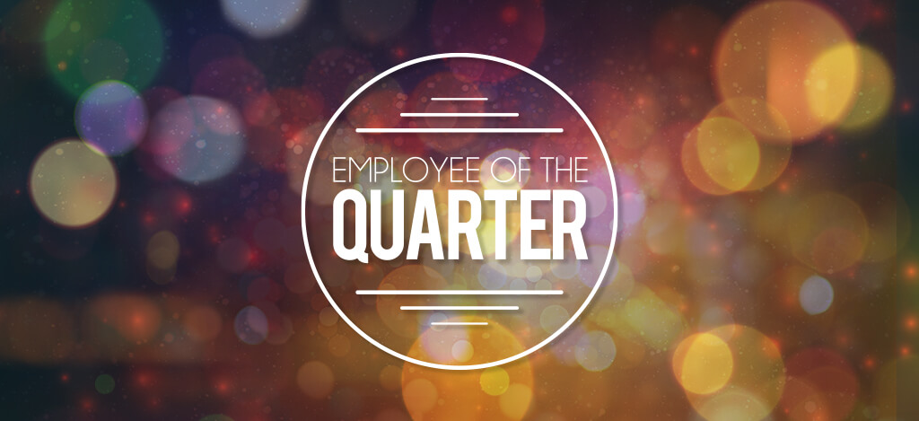 employee of the quarter awards  q4 2018