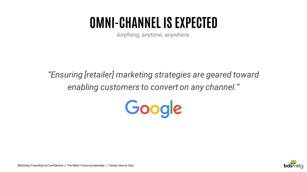 Google Omni-Channel Definition